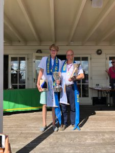 Nederlands Kampioen 2019:Martijn en Sjors van der Pol
